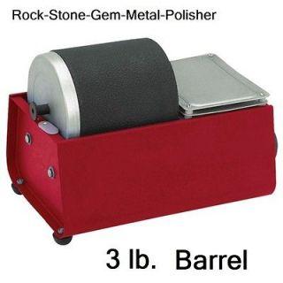 Delux Rock Tumbler Rocks Jewelry Stones Glass Metal Polishing