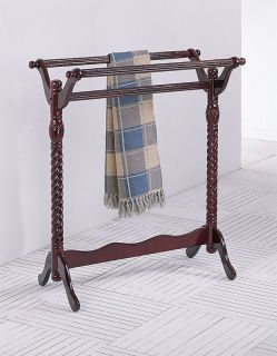 Cherry Traditional Quilt Rack