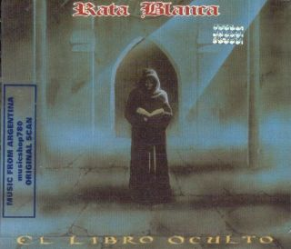 RATA BLANCA EL LIBRO OCULTO SEALED CD ARGENTINA METAL