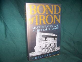 Bond of Iron Master and Slave at Buffalo Forge Charles B Dew 1994 1st