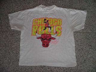 Vtg 90s Chicago Bulls 96 Championship Crewneck T Shirt XL Extra Large