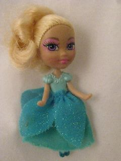 Boo Petite Princess Ballerina Miniature Doll Toy Skirt Blonde Hair