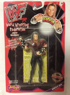 WWE WWF TNA LJN JusToys Wrestling Bend Ems Series XIV   Jeff Hardy