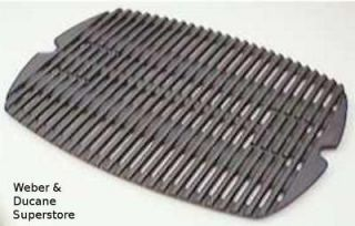 7582 Weber Gas Grill Cast Iron Cooking Grate for Q 100 & 120, Baby Q