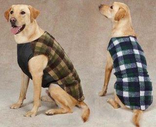 Zack & Zoey Berber Ripstop Vest Dog Coat Jacket Pet Warm Winter