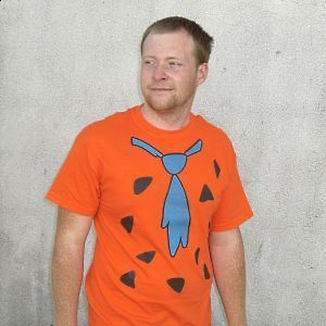 Fred Flintstone T Shirt Costume The Flintstones New