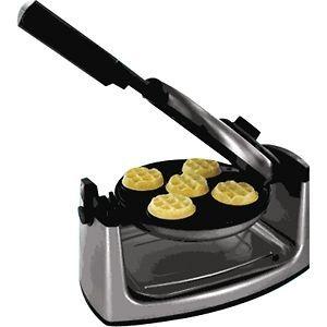 Smart Planet MWM1 Mini Flip Belgium Waffle Maker MWM 1