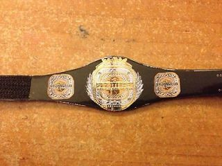 WWE/TNA/MMA Fight Fest World title custom belt for figures (Jakks