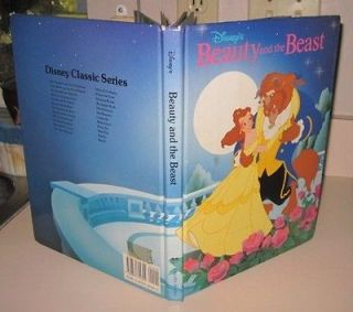 1991* HC Disneys Classic Series Beauty and the Beast Full Color