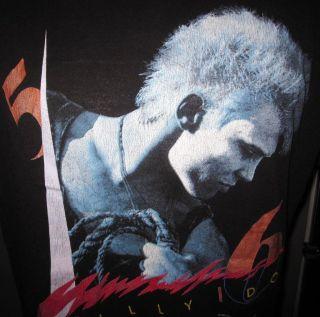 Billy Idol in Clothing,