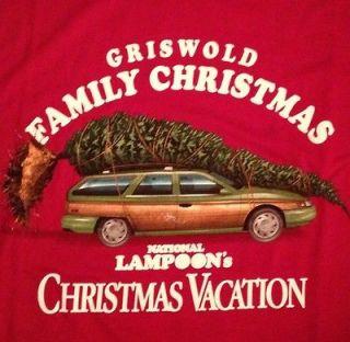 National Lampoons Christmas Vacation T Shirt XXL 2X Clark Grizwold
