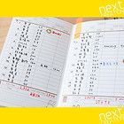 FouFou] Bill Organizer Book Notebook Stickers Set