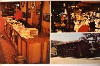 1970s CASA DE FRUTA GIFT SHOP in Hollister California CA Postcard
