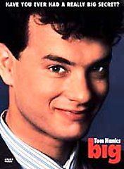 listed Big, DVD, Tom Hanks, Elizabeth Perkins, Robert Loggia, John