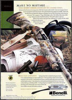 2003 BENELLI Super Black Eagle SHOTGUN Photo AD~Collectible Firearms