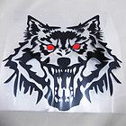 Big Wolf Head Auto Truck Car Window Wall Vinyl Decal Sticker