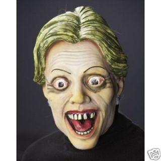 Hellary Zombie Hillary Clinton Political Latex Mask
