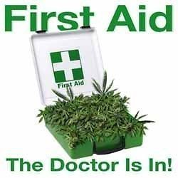 Weed Shirt First Aid Pot Kit The Doctor Is In Marijuana T Shirt Pot