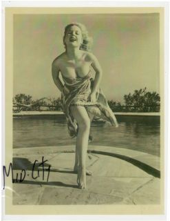 BETTY BROSMER Pin up Queen 1950s Bodybuilding Female Muscle Photo B&W