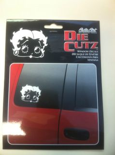 BETTY BOOP Window Decals, Sticker White Sexy Flirty Girl Fae Car Truck
