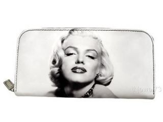 Marilyn Monroe Retro Classic Money Case ID Holder Wallet Purse Bag