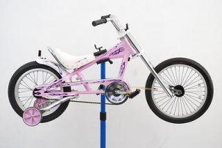 Pink Schwinn Sting Ray Orange County Choppers Training Wheels Bike
