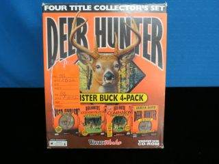 Deer Hunter: Monster Buck 4 Pack PC CD original gun shooting hunt game