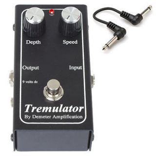 DEMETER TRM 1 TREMULATOR Guitar Tremolo Effects Pedal +FREE 6 CABLE