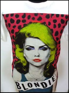 Newly listed New vintage retro 80s Blondie 2 emo rock indie t shirt S
