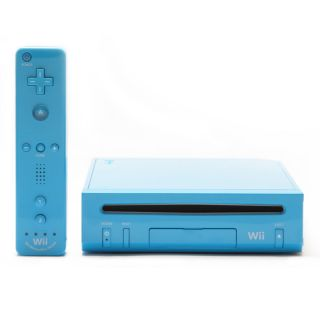 EDITION BLUE *** Nintendo Wii Console w/ Motion plus FREE SHIP IN US