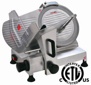 New Meat Slicer 10 Blade Commercial Deli Meat Cheese Food Slicer HBS