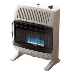 Vent Free 20,000 BTU Blue Flame, LP Gas Heater MRHF255474 BRAND NEW
