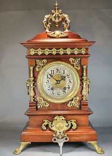 Newly listed Antique Lenzkirch Mantle Clock