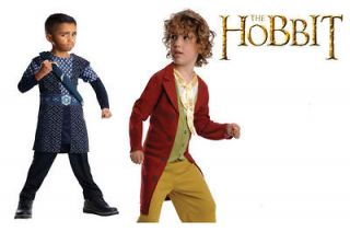 Kids Fancy Dress The Hobbit Bilbo Baggins Or Thorin Costumes Book Week