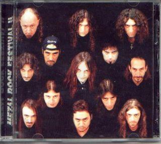 METAL ROCK FESTIVAL II CD ARGENTINA METAL RATA BLANCA