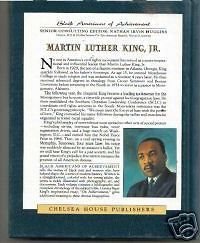 Martin Luther King, Jr. by Robert E. Jakoubek, fully illustrated