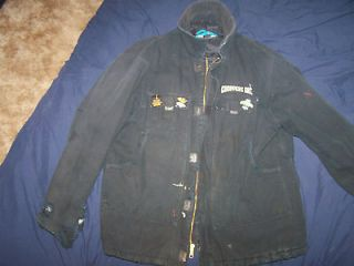 BILLY LANE CHOPPERS INC. HEAVY DUTY WINTER SHOP COAT QUILTED COTTON