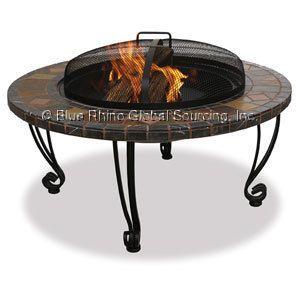 Blue Rhino Outdoor Wood Burning Fireplace WAD820SP