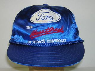 H067 Vintage trucker hat baseball cap adjustable Ford Heartbreak of