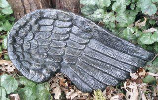 Large plastic Angel wing mold plaster concrete garden casting