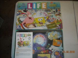 The Game Of Life   SpongeBob Squarepants Edition WOW