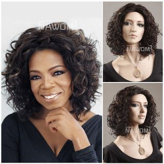 Female Dark Brown Wig Mannequin Head Hair #WG Z3 2H33 wig Accessories