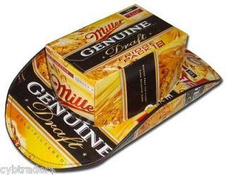 Miller Genuine Draft Beer Carton Cowboy Hat Refrigerator / Tool Box