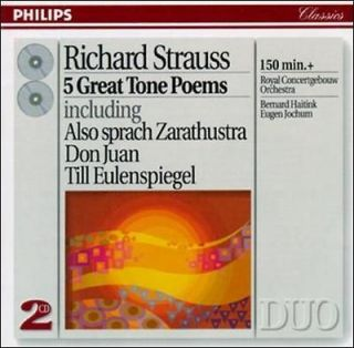 HAITINK/JOCHUM /CONCE   RICHARD STRAUSS 5 GREAT TONE POEMS   NEW CD