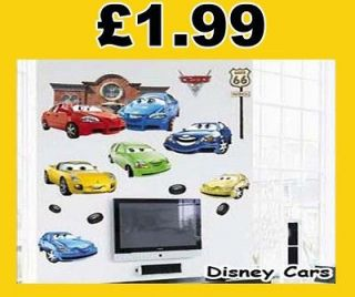 Cars kids room Vinyl Mural Wall paper stickers Art Decal