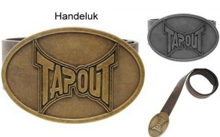 Tapout Logo Belt Buckle Mens. UFC, MMA