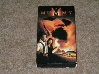 Newly listed The Mummy VHS Tape viewed twice Brendan Fraser Rachel