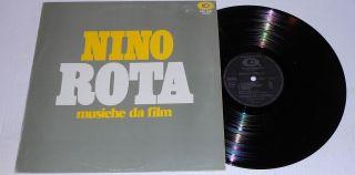 NINO ROTA Musiche da Film Carlo Savina / CAM RARE Italy LP