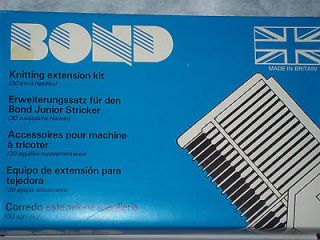 BOND Knitting Machine Bond 30 Needle Extension Kit NEW