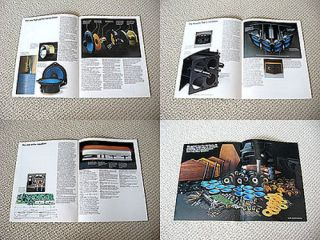 Bose 901 series III speaker brochure catalogue